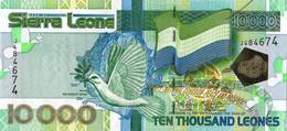 SIERRA LEONE 2004  10000 Leone - P.29a  Neuf UNC - Seychelles