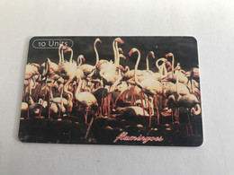 9:140  - Tanzania Chip Flamingos - Tanzania