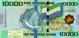 SIERRA LEONE 2010  10000 Leone - P.33a  Neuf UNC - Seychelles