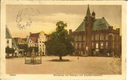 "CP De CALCAR ( KALKAR ) "" Marktplatz Mit Ratrhaus Und Seydlitz-denkmal "" Cachet Postes Militaires Belgique 5 - Kleve"