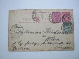 NATAL , Bild - Ganzsache Verschickt Nach Wien  1902 - Natal (1857-1909)