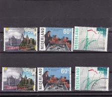 Nederland 1985 Amsterdam NVPH 1335/38 Yvert 1246/48   MNH ** + Used - Unclassified