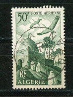 ALGERIE (RF) - POSTE AERIENNE -   N° Yt 9 Obli. Ronde - Poste Aérienne