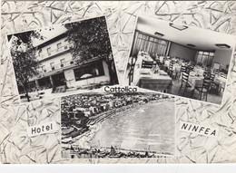 CATTOLICA-RIMINI-HOTEL=NINFEA=-CARTOLINA VERA FOTOGRAFIA VIAGGIATA IL 10-8-1962 - Pesaro