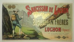 Catalogue BIGOURDAN Frères - LUCHON - 1925 - Foies Gras, Truffes ... - Publicités