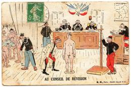 E.R. - 901 - Au Conseil De Révision - Humor