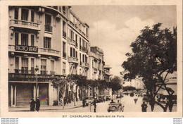 MAROC  CASABLANCA   Boulevard De Paris  ..... - Casablanca