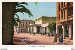 MAROC  RABAT  La Gare  ..... - Rabat