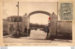 MAROC  CASABLANCA   Souvenir Du 64 ème Régiment D'Artillerie - Casablanca