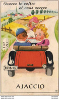 D20  AJACCIO  Ouvrez Le Coffre Et Vous Verrez Ajaccio ......  Carte à Système Avec Dépliant De Petites Photos Complet - Ajaccio