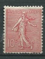 Semeuse Lignée   Yvert N° 129 *  Charnière    Pla 4427 - 1903-60 Semeuse A Righe