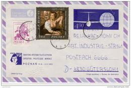 Poland - Luftpost, Airmail,  Nowa Gorago Nach Gütersloh - 1977, Nice Stamp - Refb3 - Flugzeuge