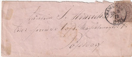 HAMBURG 1872 LETTRE - Conf. De L' All. Du Nord