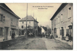 CPA   SAINT-ALBIN De VAULSERRE  Grande Rue - Autres Communes