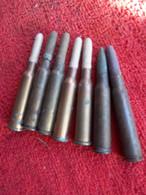 Lot Cartouches Embout En Bois - Decorative Weapons