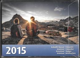 Greenland MNH ** 2015 Full Year, Still Sealed By Post Greenland. - Komplette Jahrgänge