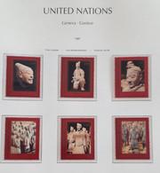ONU Genève 1997 Unesco Patrimoine Mondial Chine Détachés De Carnet De Prestige ** - Unused Stamps