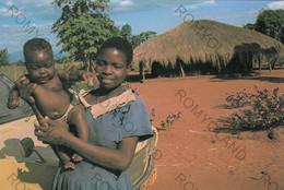 CARTOLINA  MONTFORT MISSIONARIES MALAWI (EAST AFRICA) VIAGGIATA 1990 - Malawi