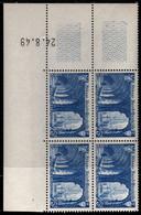 FRANCE N°842** SAINT WANDRILLE COIN DATE DU 24/8/1949 - 1940-1949