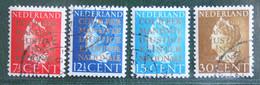 Cour Internationale De Justice NVPH D16-D19 D 16 (Mi Dienst 16-19) 1940 Gestempeld / Used NEDERLAND / NIEDERLANDE - Dienstpost