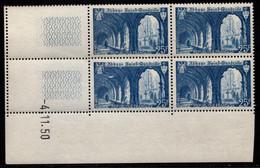 FRANCE N°842** SAINT WANDRILLE COIN DATE DU 4/11/1950 - 1950-1959