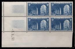 FRANCE N°842** SAINT WANDRILLE COIN DATE DU 5/6/1950 - 1950-1959
