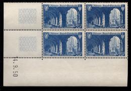 FRANCE N°842** SAINT WANDRILLE COIN DATE DU 14/9/1950 - 1950-1959