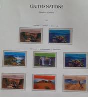ONU Genève 1999 Unesco Patrimoine Mondial Australie Détachés De Carnet De Prestige ** - Unused Stamps