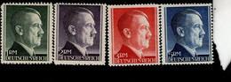 Deutsches Reich 799 - 802 A Adolf Hitler MLH Mint * - Nuevos
