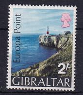 Gibraltar: 1970   Europa Point  SG247w   2/-  [Wmk Inverted] MNH - Gibilterra