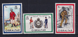 Gibraltar: 1972   Bicentenary Of Royal Engineers In Gibraltar   MNH - Gibraltar