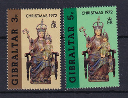 Gibraltar: 1972   Christmas   MNH - Gibraltar