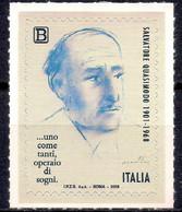 Italy 2018 Salvatore Quasimodo Writer Nobel Prize In Literature People 1v MNH - Unclassified