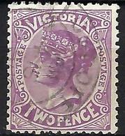 AUSTRALIE Victoria 1906: Le Y&T 144  Obl. - Usados