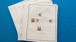 Lot N° TH 320 COTE D'IVOIRE Neufs Ou Obl. Sur Page D'albums - Sammlungen (im Alben)