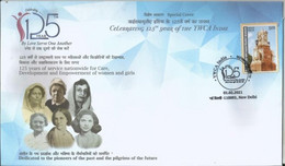 Special Cover, Mary Jane Kinnaird,Co-Founder, Young Women's Christian Association (YWCA),Empowerment Of Women's - Cartas