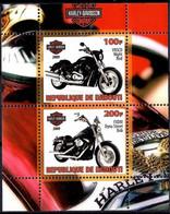 Harley Davidson Motorcycle Motor Cycles Motorbikes M/s MNH - Non Classificati