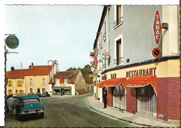CPSM DE BRETIGNY SUR ORGE PLACE DU GENERAL LECLERC - Bretigny Sur Orge