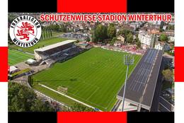 CP.STADE. WINTERTHUR  SUISSE SCHUTZENWIESE  STADION   CS.1272 - Calcio
