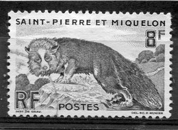 SAINT-PIERRE ET MIQUELON  N°  345  (Y&T)   (Oblitéré) - Oblitérés