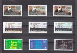 Stamps SUDAN 2019 1st ANNIV, DECEMBER REVOLUTION MNH 2ND SERIES PERFORATE SET #6 - Sudan (1954-...)