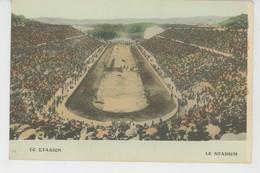 GRECE - ATHENES - LE STADIUM - Greece