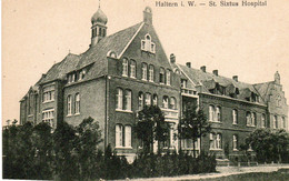 HALTERN I;W. St Sixtus Hospital - Haltern