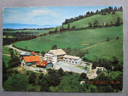 CP 74 Haute Savoie CHENEVOZ  Prés Evian Les Bains - La Colonie De Vacances Châlet  Edelweiss  1971 - Evian-les-Bains
