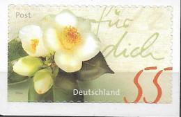 2004 Allem Fed. Deutschland Booklet Stamp Mi. 2416** MNH Self Adhesive  Kameliengruß - Unused Stamps