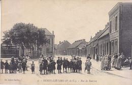 HENIN - LIETARD   Rue De Rouvroy, Belle Animation - Henin-Beaumont
