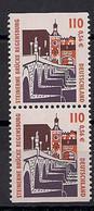 2000 Allem. Fed. Deutschland  Mi. 2140 C D ** MNH  Booklet Set  Steinerne Brücke, Regensburg - Unused Stamps