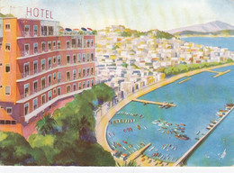 NAPOLI-HOTEL=PARADISO=-CARTOLINA VIAGGIATA 1950-1958 - Napoli (Naples)