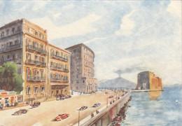 NAPOLI-HOTEL=METROPOLE=-CARTOLINA NON VIAGGIATA 1940-1950 - Napoli (Naples)