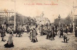 MADRID - Fuente De La Cibeles, Animée - Madrid